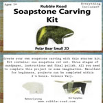 Soapstone Carving Kits Small