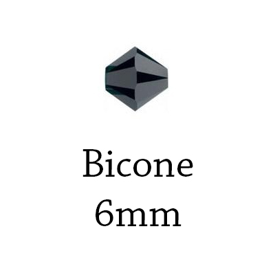 Bicone - 6mm