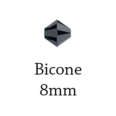 Bicone - 8mm
